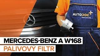 Video návody pro začátečníky pro nejběžnější opravy modelu Mercedes Třída A W176