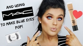 FULL FACE OF MAC MAKE UP! Using my FAV PRODUCTS! | Rachel Leary