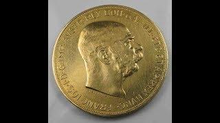 Austria Gold 100 Corona 1914 Franc Joseph coincombinat