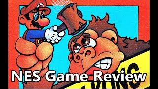 Donkey Kong NES Review The No Swear Gamer Ep 206
