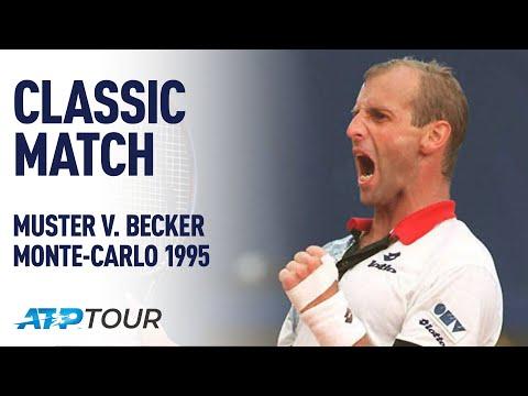 MUSTER V BECKER | 1995 MONTE-CARLO FINAL | ATP