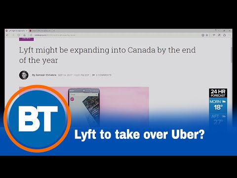 Uber's competitor Lyft might take the lead in Canada
