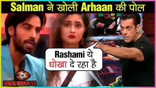 Salman Khan REVEALS TRUTH Of Arhaan Khan's Marriage To Rashami Desai | Bigg Boss 13