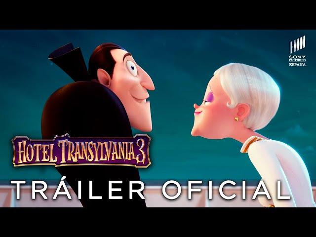 Hotel Transilvania 3: Drácula busca novia en un crucero