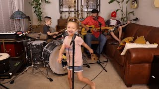 """Colt Clark and the Quarantine Kids play """"Let's Work Together"""""""