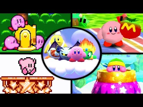 Evolution of Goal Games in Kirby Games (1993 - 2018)