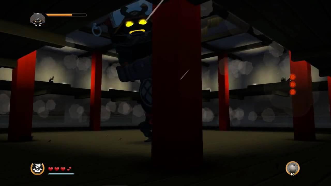 |Mini Ninjas-Boss Fight| Fourth Boss