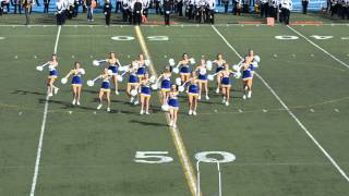 LTHS Varsity Poms Homecoming 2014     9/27/14