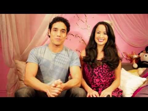 """""""You Can't Wish For Love"""" with ALADDIN'S, Adam Jacobs and Courtney Reed"""