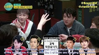 Gambar cover [ENGSUB] 171110 tvN Life Bar EP44 with Super Junior - Super Sisters 💙