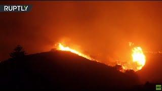Apocalyptic View: Severe wildfire rips through California