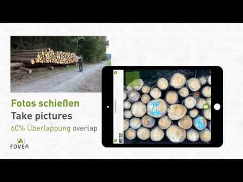 FOVEA: Holzpolter Vermessen /// Measuring Log Stacks