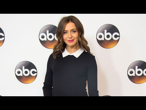 EXCLUSIVE: 'Grey's Anatomy' Actress Caterina Scorsone Confirms She's Expecting Her Second Child!