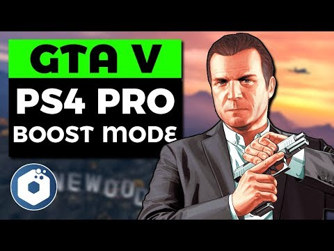 Grand Theft Auto V - 4K 60fps Gameplay - First 20 Minutes | PS4 Pro Boost Mode Enabled thumbnail