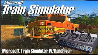 Microsoft Train Simulator W/Raildriver