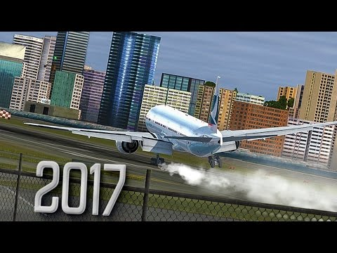 New Flight Simulator 2017 | Worlds Hardest Approach [P3D 3.4 - Ultra Realism]