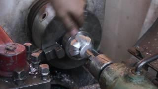 токарные работы как выточить в шаре гайку