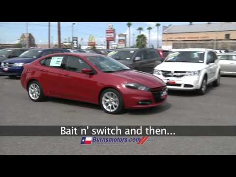 Burns motors tricky gabby youtube for Burns motors mcallen texas