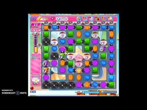 Candy Crush Level 1607 Help W/audio Tips, Hints, Tricks