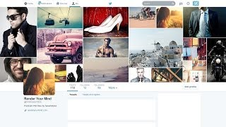 How to create a photo montage your the new Twitter header image!