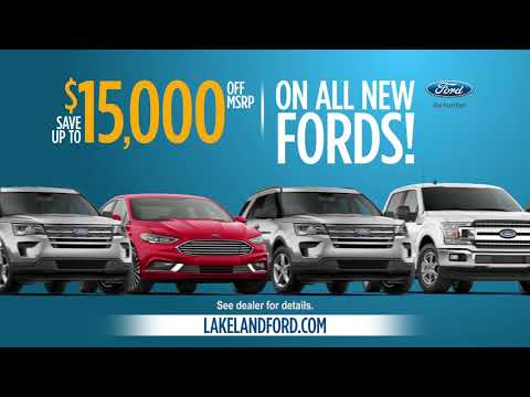 Hurry Up and Save at Lakeland Ford! Drive the Ranger for Only $249 /MO