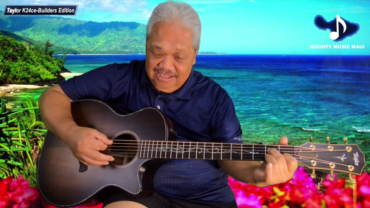 Kevin Brown Slack Key with Taylor Builders Edition