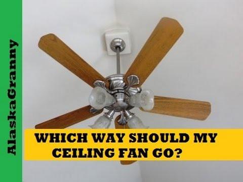 Which Way Should My Ceiling Fan Go   Duration: 1:35. AlaskaGranny 22,788  Views · 1:35
