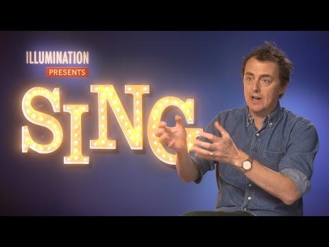 Sing writer and director Garth Jennings