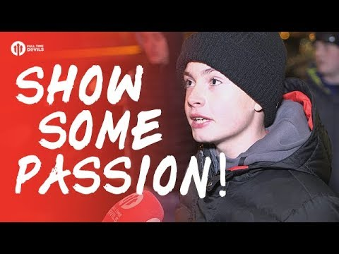 Show Some Passion! Manchester United 1-2 Manchester City FANCAM