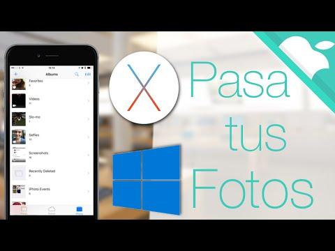 COMO PASAR FOTOS DEL IPHONE AL PC (Mac Y Windows)