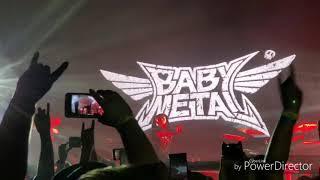 I go to the Atlanta BABYMETAL METAL GALAXY WORLD TOUR on September ...
