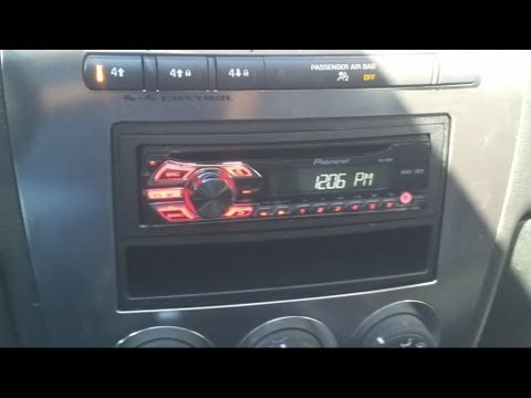 hqdefault how to install an aftermarket stereo in your h3 hummer youtube 2007 hummer h3 radio wiring diagram at readyjetset.co