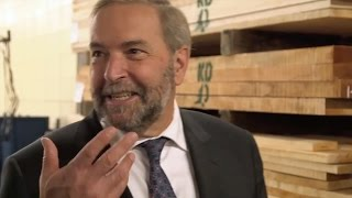 New NDP Ad: Tom Mulcair 'Driven by a call to action'