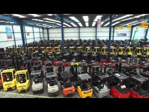 Fly Over 1600 Used Forklifts In 3 Minutes - Lisman Forklifts