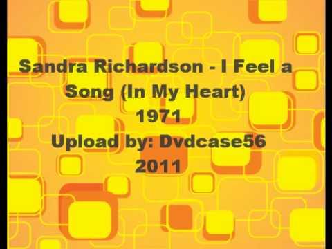 Sandra Richardson - I feel a song (in my heart) 1971