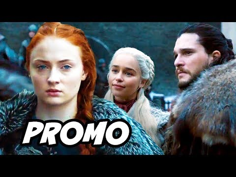 Game Of Thrones Season 8 Jon Snow Promo - TOP 10 Predictions