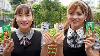 Chị Tuyết Và Chị Hằng Đi Siêu Thị Mua Đồ Ăn ❤ BIBI TV ❤