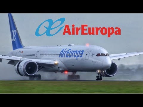 Air Europa Boeing 787-900 Dreamliner Business Class Amsterdam To Madrid