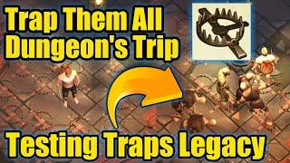 Grim Soul Dark Fantasy : #129🔥Trap Them All🔥Using 20 Traps In Single Dungeon Trip🔥