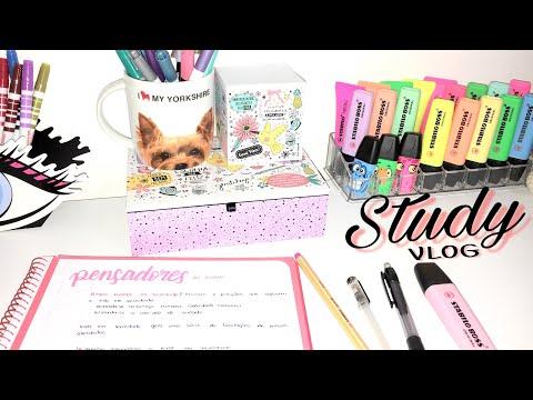 Study vlog | como revisar conteúdos importantes e difíceis