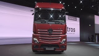 Mercedes-Benz Actros 1853 Tractor Truck (2019) Exterior and Interior