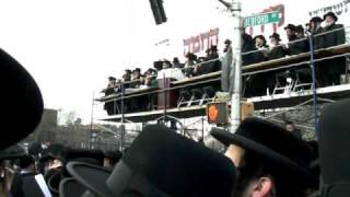Birchas Hachama with Satmar Rebba in Williamsburg Brooklyn 4/8/2009 (1)