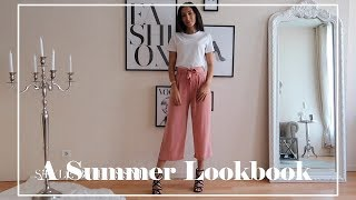 A Summer Lookbook | Top Fashion Trends | Salty Fashion