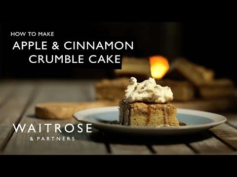 Apple and Cinnamon Crumble Cake | Waitrose