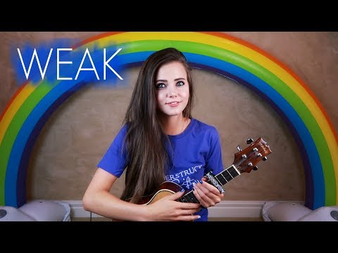 WEAK - AJR (Official Music Video Cover) Tiffany Alvord - LIVE
