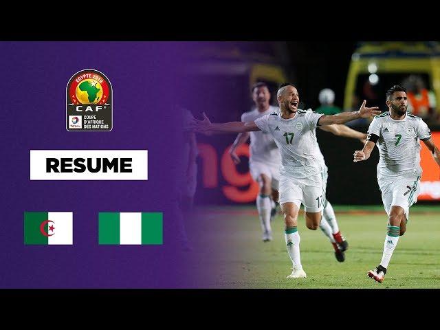CAN 2019 - L'Algérie en finale dans le money time !