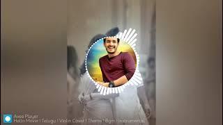 Hello Movie Telugu violincover Theme BGM Instrumental music BGM Ringtone New Viral Trending Ringtone