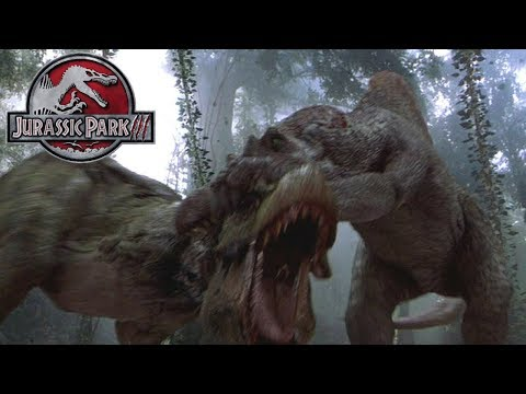 Download Youtube: Did the Spino Kill the Baby Rex? - JP3 Rex - Jurassic World Chaos Theory