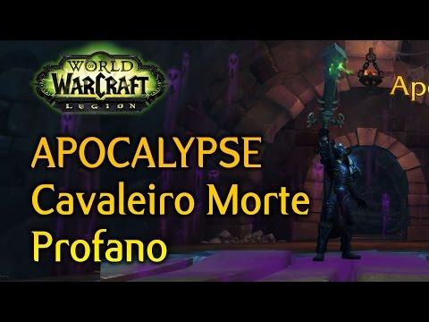 Apocalypse: Cavaleiro da Morte Profano - World of Warcraft Legion Artefato