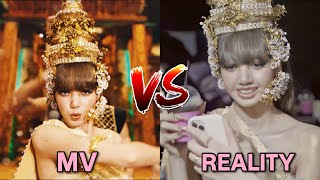 LISA 'LALISA' MV VS REALITY